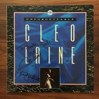 CLEO LAINE Unforgettable SIGNED PRT PYL 6028 UK Press VINYL LP NM