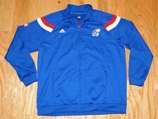 Adidas KU Kansas Jayhawks Zip Up Track Jacket Size 62 Men's