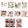 Christmas Party Xmas Selfie Fun Photo Booth Prop Set Mustache Lip on Stick