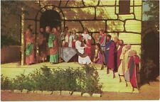 """Vintage Postcard - Black Hills Passion Play - """"Farewell at Bethany"""" - Vg"""