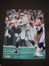 Troy Aikman Color 8x10 Photo Football NFL Promo Picture Dallas Cowboys