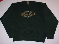 Green Bay Packers Super Bowl XXXI Crewneck Sweatshirt Embroidered Logo Size - XL