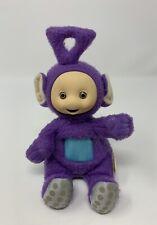 Playskool Teletubbies Tinky Winky Purple Bean Bag Plush Stuffed Animal Toy 1998