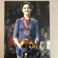 Evgenia Medvedeva Signed Autographed 8x10 Photo Russia Olympics with PROOF -F
