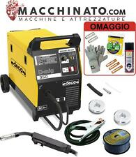 ✔️Saldatrice a filo continuo MIG-MAG/NO GAS 145A carrellata Deca D-MIG 350