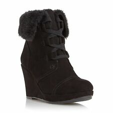 Platforms & Wedges Standard (B) Lace Up Boots for Women