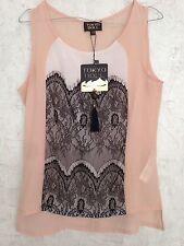 New Look Waist Mesh Tops & Shirts for Women