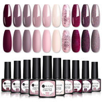 UR SUGAR 7.5ml 10Pcs Smalto Gel UV per Unghie Soak off Nail UV Gel Polish Kit