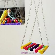 Parrot Hanging Swing Bird Toy Harness Cage Toys Parakeet Cockatiel Budgie