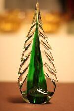 Murano Italian Art Glass TREE for Christmas, Winter, Snow, Holiday - LARGE