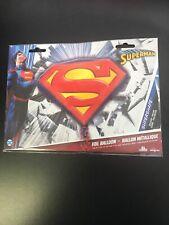 "Anagram Super Shape 26"" Superman Mylar Foil Balloon Party Decorating"