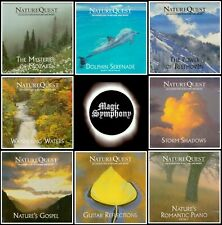 8 x CD - Nature Quest / Instrumental New Age Music w/ Nature Sounds / Relax