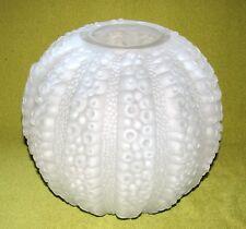 Kristallglas Vase matt Jugendstil Oktopus polierter Vasenmund ?Lalique?