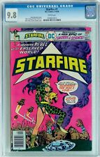 STARFIRE #1 (Aug-Sep 1976, DC) CGC 9.8 NM/MT 1st appearance of Starfire - WHITE