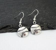Sport Jewellery, Baseball Gifts,Baseball Baseball Earrings, Charm Earrings,