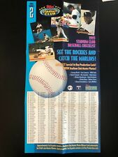 New listing 1993 Topps Stadium Club Series 2 Poster 10x20 - NM Condition/Folded