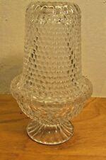 vintage fenton fairy light clear glass