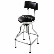 Craftsman Adjustable Hydraulic Stool Mechanics Chair Swivel Seat Work Bench Tool