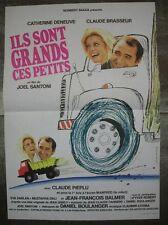 ILS SONT GRANDS CES PETITS Brasseur 1979 Affiche Originale 40x55 Vintage Poster