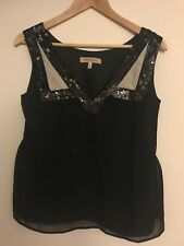 See By Chloe Sequin Top Size 6