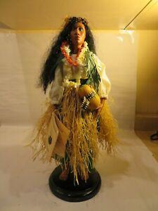 Hei Mana Creation Patty Kanaar  Island Traditions Hand Crafted Doll Hawaii 1995