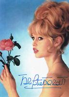 Brigitte BARDOT - franz. Filmschauspielerin, Original-Autogramm!