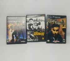 Fantastic 4, The Getaway,Dead to Rights(Sony PlayStation2 and Nintendo Gamecube)