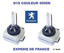 2 AMPOULES XENON D1S PEUGEOT 307 CC 2005->2008 35W 6000K NEUF