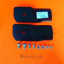 Messerklingen Satz für STIGA 1134-9063-02 Park 107M >Bj.2000, Villa 92M linksdr
