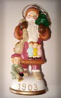 Memories of Santa Collection 1903 Bavarian St. Nicholas New In Box