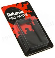 DIMARZIO HUMBUCKER PICKUP MOUNTING RING GUITAR NECK POSITION (BLACK) FLAT *NEW*