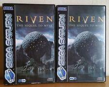 Sega Saturn -- Riven the Sequel to Myst -- *PAL !!*   A948