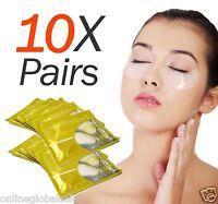10X Pairs Anti-Wrinkle Dark Circle, Collagen Under Eye Patches Pad Mask Bag Gel