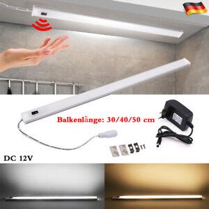 12V LED Unterbauleuchte Bewegungsmelder Küchenunterbau-Leuchte Batteriebetrieb
