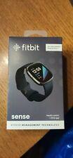 Fitbit Sense - Carbon Graphit Mit Rechnung unbenutzt