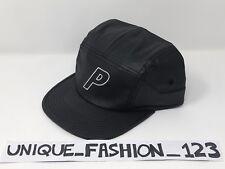 ec89b8eb6ed4e0 Palace Skateboards Fw16 PVC Black Matte Stadium 6 Panel Camp Cap P Hat