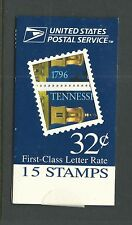 Bk248 Mdi Booklet Tennessee Unopened Nh Xf