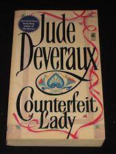 msm JUDE DEVERAUX ~ COUNTERFEIT LADY