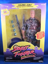 Street Fighter Colonel Guile Action Figure