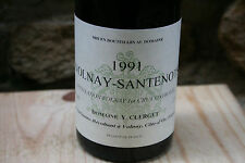 RARE Volnay-Santenots 1er cru 1991 75 cl