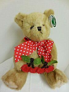 """Bearington """"BEARY CHERRY"""" BEAR #143300 Spring NWT F/S"""