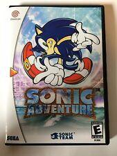 Sonic Adventure - Sega Dreamcast - Replacement Case - No Game