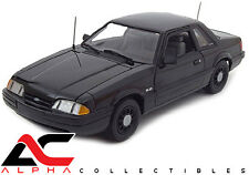 GMP 18805 1:18 1992 FORD MUSTANG 5.0 FBI PURSUIT BLACKED OUT LIMITED ED. 948
