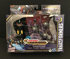 Transformers Cyberverse Battle for Cybertron SHARKTICONS attack w/ Hot Rod, NEW
