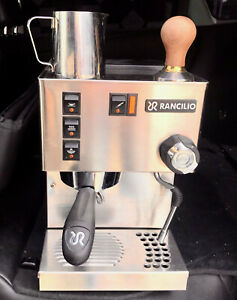 Rancilio-Silvia-M V6 Rancilio Silvia Espresso Machine with Iron Frame Steel Side