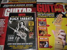 GUITAR World DVD How To Play the Best of BLACK SABBATH + Bonus Instruction Mag