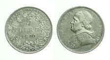 pcc1655_1) Stato Pontificio  Pio IX (1846-1870) - 5 lire 1870
