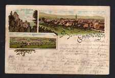 113439 AK Emmendingen 1895 Litho Heil- und Pflegeanstalt