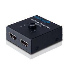 Fosmon HD8024 2x1 or 1x2 Ultra HD 4K HDMI Bi-Directional Switch... Free Shipping