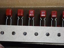 ECQV1H105JL PANASONIC Cap Film 1uF 50V PET 5% Radial 5mm 105°C 100 PIECES
